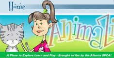 Kids website and interactive learning application and games