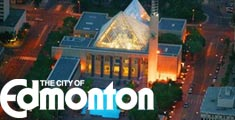 Virtual Tour of Edmonton City Hall, including audio, video and 3D animations