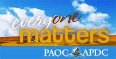 National website for PAOC - content managed website, featuring worldwide member contribution tools