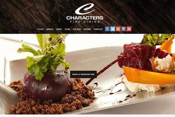 Characters Fine Dining – Best Restaurant in Edmonton