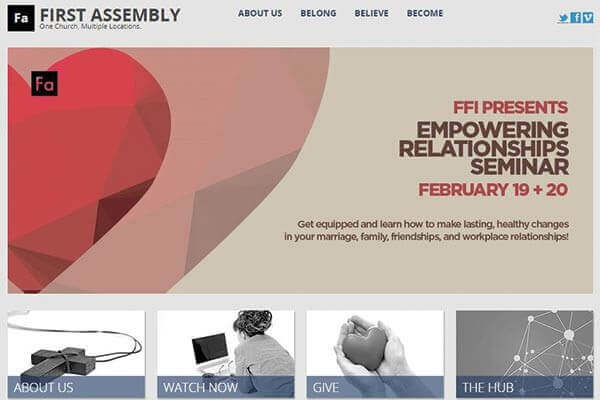 First Assembly Church Calgary Website